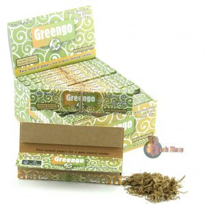 Greengo King Size Slim Rolling Papers with Tips