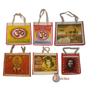 Indian Cotton Shopping Bags – with Waterproof Lining
