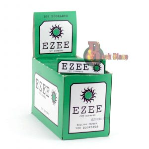Ezee Green Rolling Papers with Cut Corners