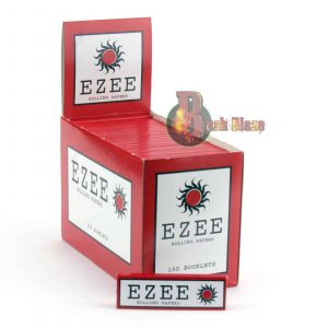 Ezee Red Rolling Papers with Cut Corners