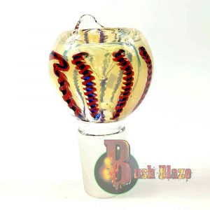Colour Changing Glass Bowl