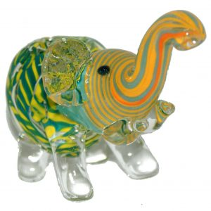 Glass Animal Pipe – Elephant Pipe