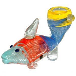 Glass Animal Pipe – Fish Pipe