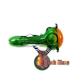 Premium Alien Art-Spoon Pipe with Handle