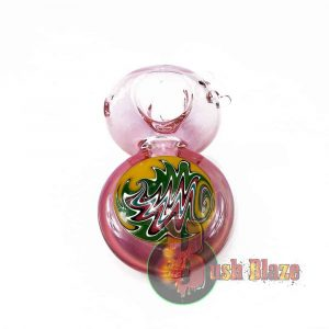 Jazzy Glass Round Pipe