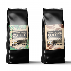 CBD Infused Coffee – 100g 100mg CBD