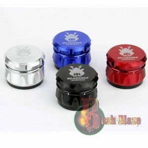 Head Chef Samurai Aluminium Grinder 55mm 4 Part