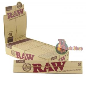 12 inch raw papers